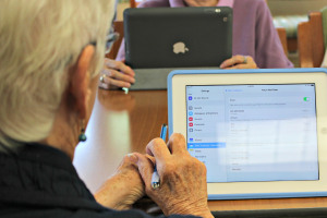 Seniors can use technology to enhance their lives.